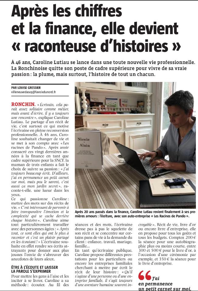 Caroline Auteur Sur Les Racines De Pando
